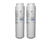 2 x GE Genuine MSWF Smartwater Internal Fridge Ice Water Filter