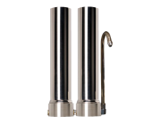 Doulton Twin Stainless Steel Countertop Water Filter System 10""