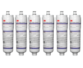 6 x Bosch CS-52 Fridge Water Filter Cuno 3M Genuine USA