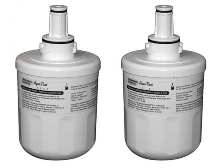 samsung aqua pure plus filter. 2 X Samsung DA29-00003F Aqua-Pure Plus Fridge Water Filter Aqua Pure