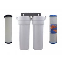Doulton Ceramic Superblock Twin Under Sink Water Filter System