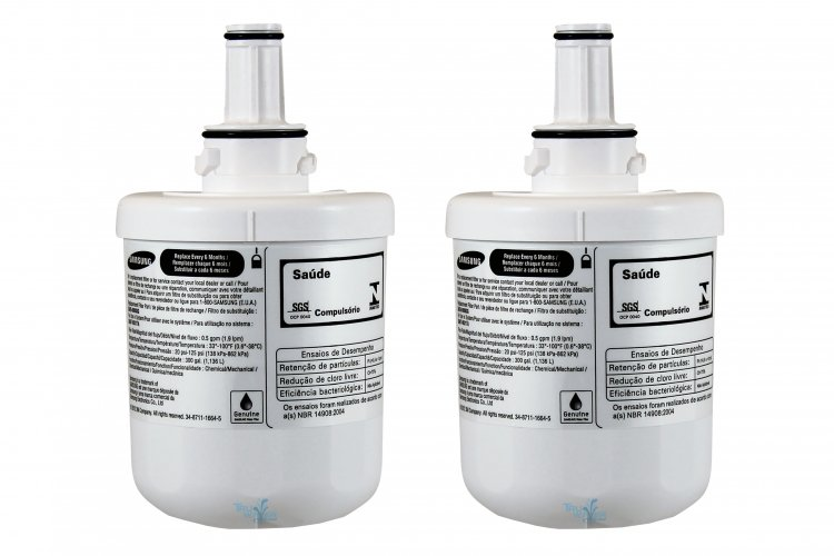 Reviews 2 X Samsung Da29 00003g Aqua Pure Plus Fridge Water Filter Da29 00003g 2 Water Filters New Zealand Premium Water Filters Reverse Osmosis Boiling Chilled Home Office