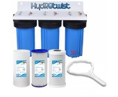 "Triple Whole House Water Filter System 10"" Big Blue CBC"