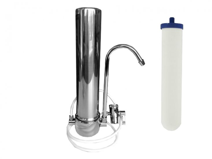 countertop water filter with doulton ultracarb filter