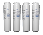 4 x GE Genuine MSWF Smartwater Internal Fridge Ice Water Filter