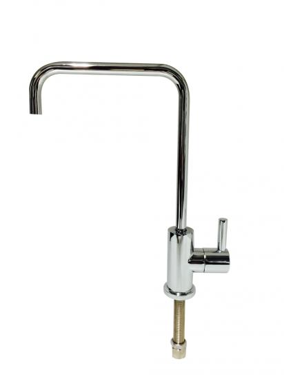 Elegant Square Petite Style Ceramic Disc Water Filter Faucet Tap
